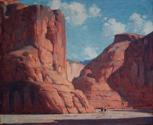 Edgar Payne - Canyon De Chelly